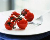 Bunch of cherry tomatoes