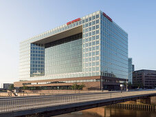 Spiegel publishing house in the Hafencity area, Hanseatic City of Hamburg, Germany, Europe