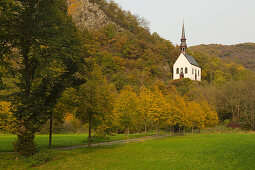 Wallfahrtskapelle Maria Geburt bei Pützfeld, Ahrsteig, Ahr, Rheinland-Pfalz, Deutschland
