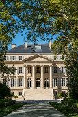 Chateau Margeaux , Weinbau, Medoc, Weingut, Weinreben,  Bordeaux, Gironde, Aquitanien , Frankreich, Europa