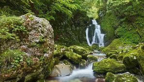 water event in lepena valley, Triglav National Park, Slovenia