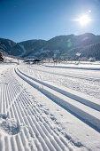 Loipe, Schnee, Winter, Skigebiet, Werfenweng, Österreich, Alpen, Europa