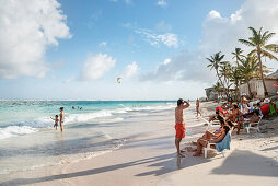 karibischer Traumstrand auf San Andres, Departamento San Andrés und Providencia, Kolumbien, Karibik, Südamerika