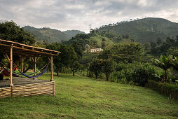 Hacienda Venecia bei Manizales, UNESCO Welterbe Kaffee Dreieck (Zona Cafatera), Departmento Caldas, Kolumbien, Südamerika