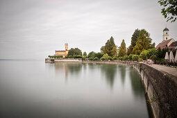 Montfort castle, Langenargen, Lake Constance, Baden-Wuerttemberg, Germany