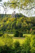 Burgruine Neideck, Wiesenttal, Franken, Bayern, Deutschland
