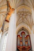 Choir organ; South aisle;