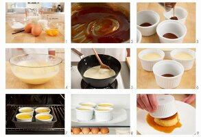 Creme Caramel zubereiten
