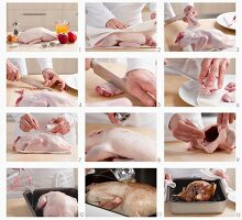 How to prepare a whole duck