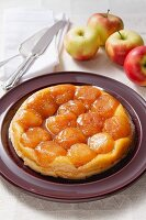 Tarte Tatin (Gestürzter Apfelkuchen)