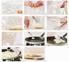 Pfannkuchen zubereiten