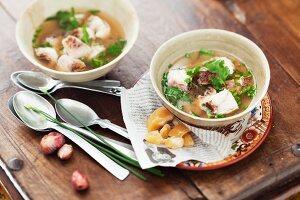 Fish soup (Thailand)