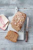 Spelt and amatanth bread with parsnips