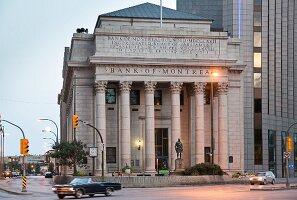 Exchange District, Main Street, Winnipeg, Provinz Matinoba, Kanada