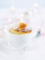 Fig and honey souffle (Christmas)