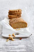 Erdnussbutterbrot ohne Mehl (Low Carb)