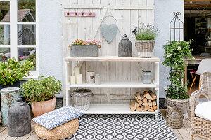Terrasse als Outdoor-Wohnzimmer