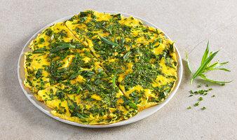 Kräuter-Omelett