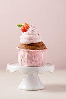 Vegane Schokoladencupcake mit Frosting