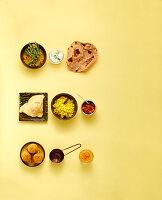 Perfekte Kombis in der indischen Küche schnell, vegetarisch und snackig