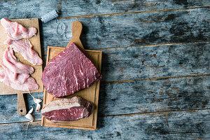 Rind- und Kalbfleisch