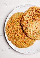 Gemüse-Pfannkuchen (zuckerfrei)