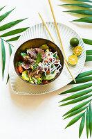 Hirschhüften-Salat 'Thai-Style'