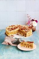 Schnelle Eiskaffee-Torte mit Löffelbiskuits