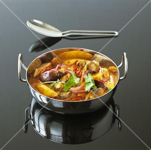 Lamb curry with mango, India
