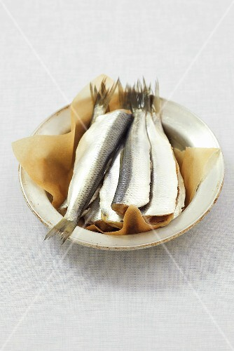 A bowl of herring