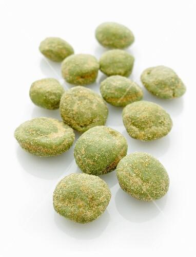 Wasabi peanuts
