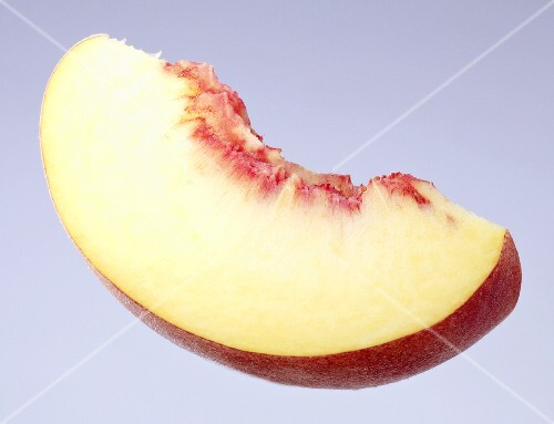 A slice of peach