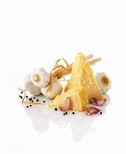 Parmesan and garlic
