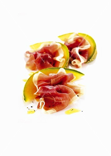 San Daniele ham with melon