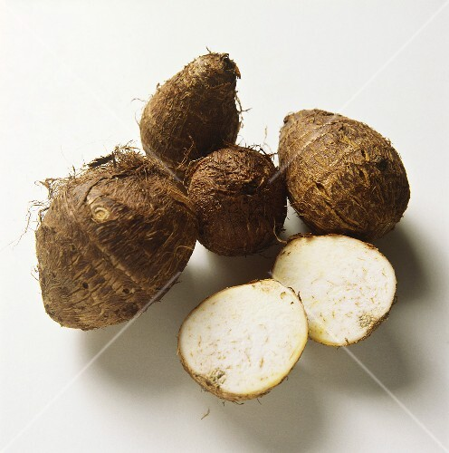 Yam roots