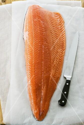 Tasmanian salmon fillet