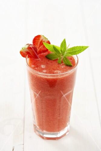 A strawberry shake