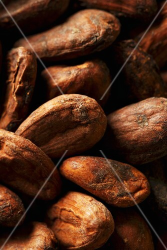 Cocoa beans (close-up)