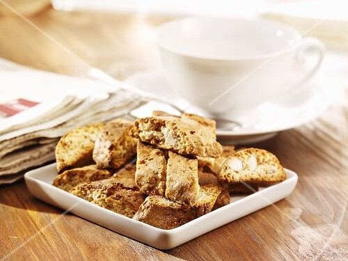 Cantuccini (Almond biscuits, Tuscany)