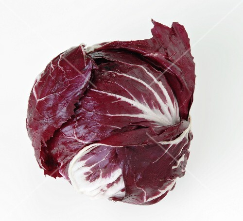 A head of radicchio