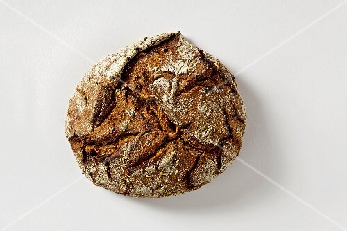 Tyrolean bread (Sourdough rye bread with fennel seeds)