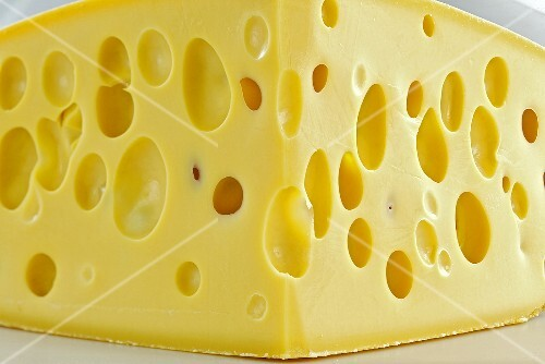 Emmental cheese (close-up)