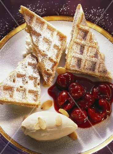 Belgian Cream Waffles