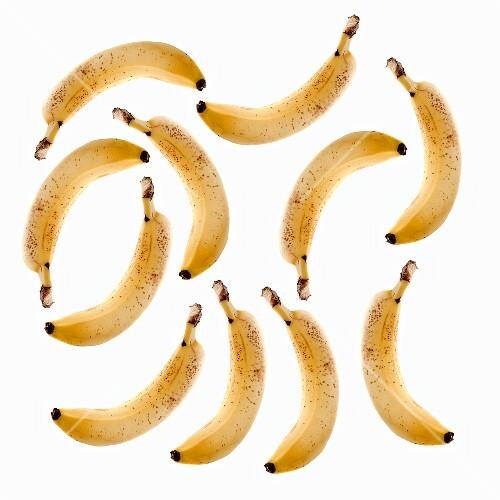 Lots of ripe bananas