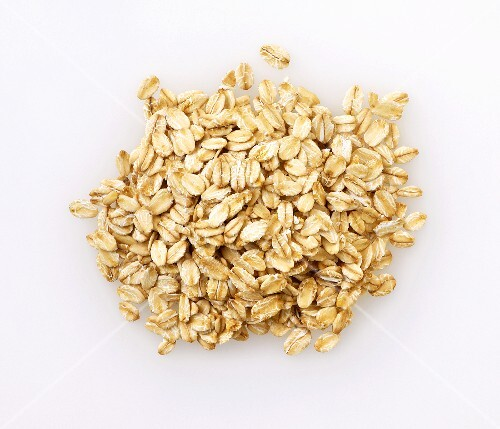 Oats, seen from above