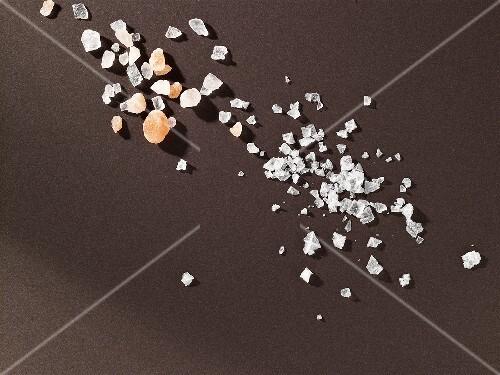 Salt crystals