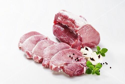 Pork loin joints