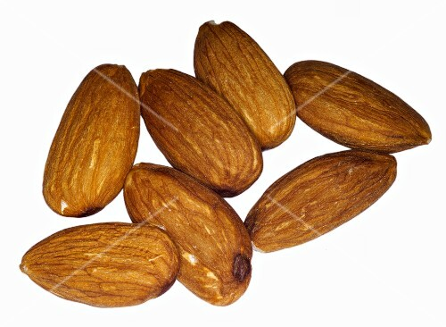 Almonds with skin