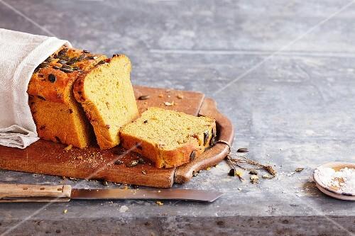 Pumpkin and potato bread