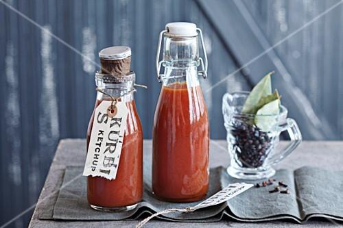 Kürbis, Kürbis-Tomatenketchup